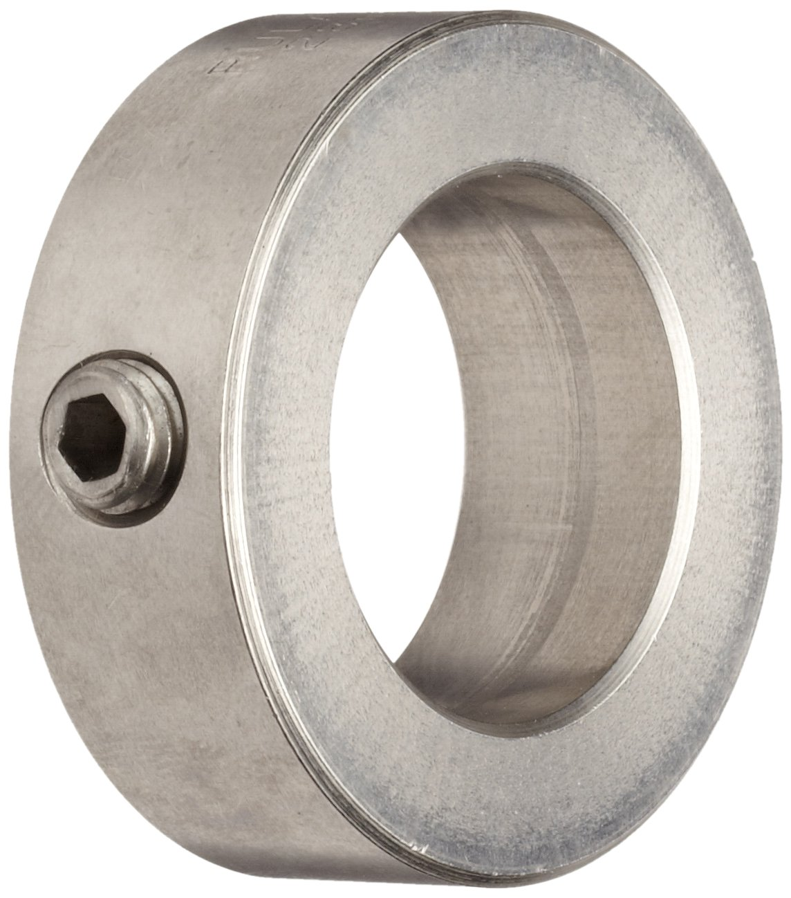 Ruland MSC-4-SS Set Screw Shaft Collar, Stainless Steel, Metric, 4mm Bore, 8mm OD, 5mm Width (Pack of 4)