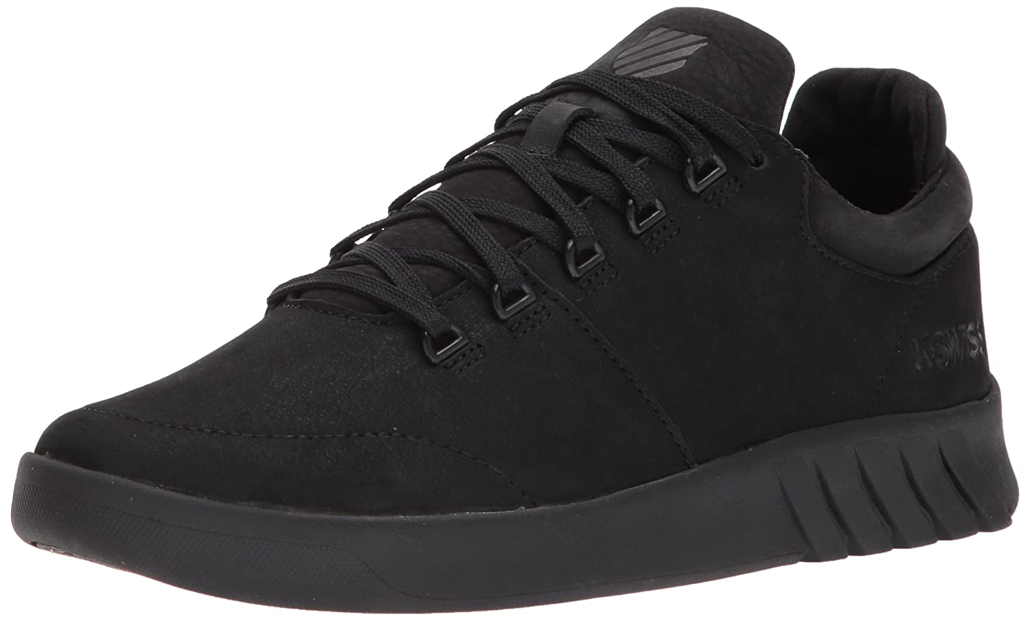 K-Swiss Women's Aero Trainer Sneaker B0728CNXWH 5.5 B(M) US|Black