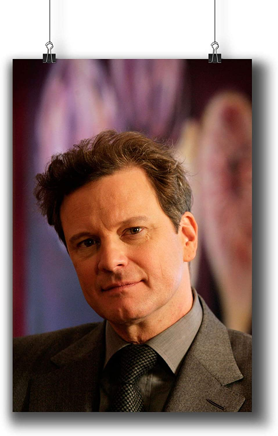 Colin Firth Actor Movie Photo Poster Prints 006-001,Wall Art Decor for Dorm Bedroom Living Room (A4|8x12inch|21x29cm)