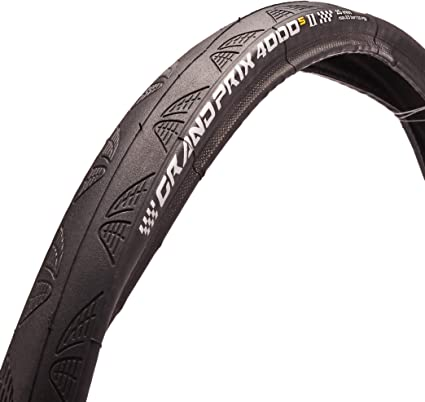 Amazon.com: Continental Grand Prix 4000 S II Tire – Clincher ...