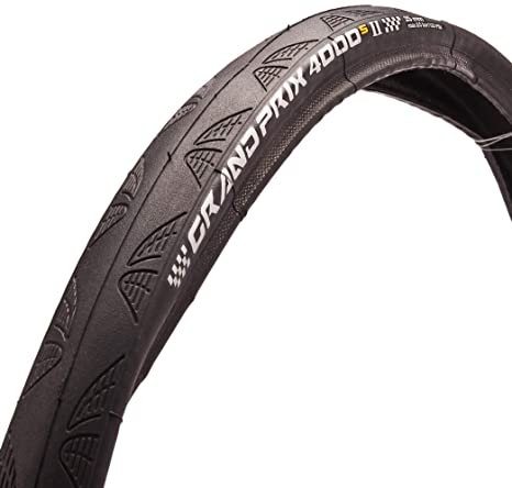2feccf7f5af Image Unavailable. Image not available for. Color: Continental Grand Prix  4000 S II Tire - Clincher Black ...