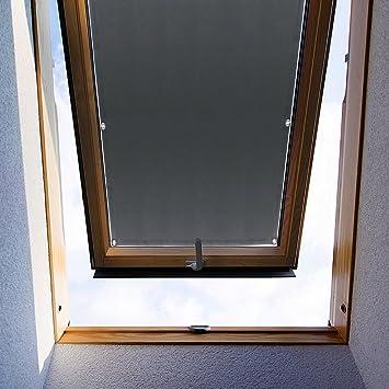Top Kin 38 75cm Sonnenschutz Dachfensterrollo Ohne Bohren Fur