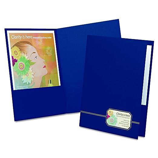 amazon com oxford monogram executive twin pocket folder