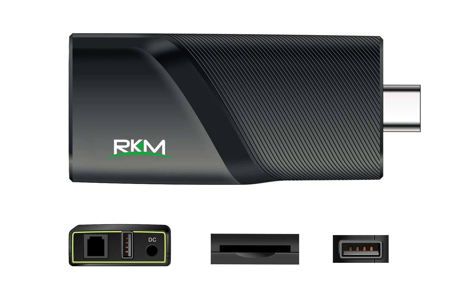 RKM Quad Core 4k Android Mini Pc with 2g Ram/16g Rom, 2.4g/5g Wifi Gbit Ethernet Bluetooth4.0 1.8ghz Hdmi Player- Smart Streaming Media Player v5