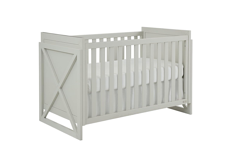 Amazon com bassett baby kids tate 3 in 1 crib grey baby