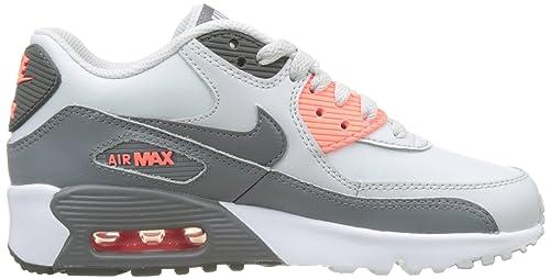 Nike Mädchen Air Max 90 Ltr Se Gg Gymnastikschuhe grau
