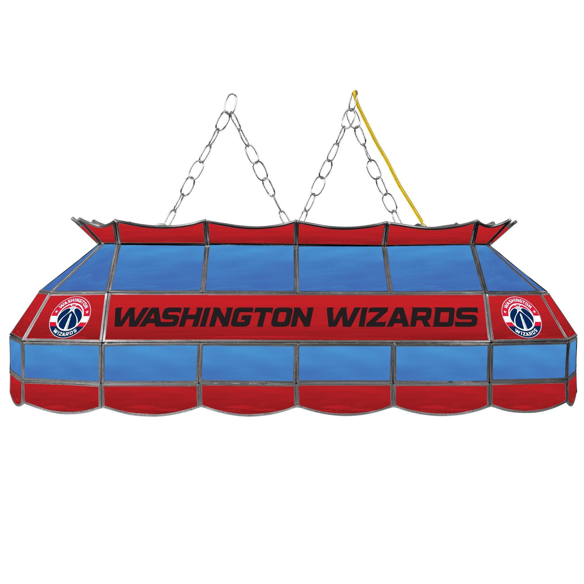 NBA Washington Wizards Tiffany Gameroom Lamp, 40''