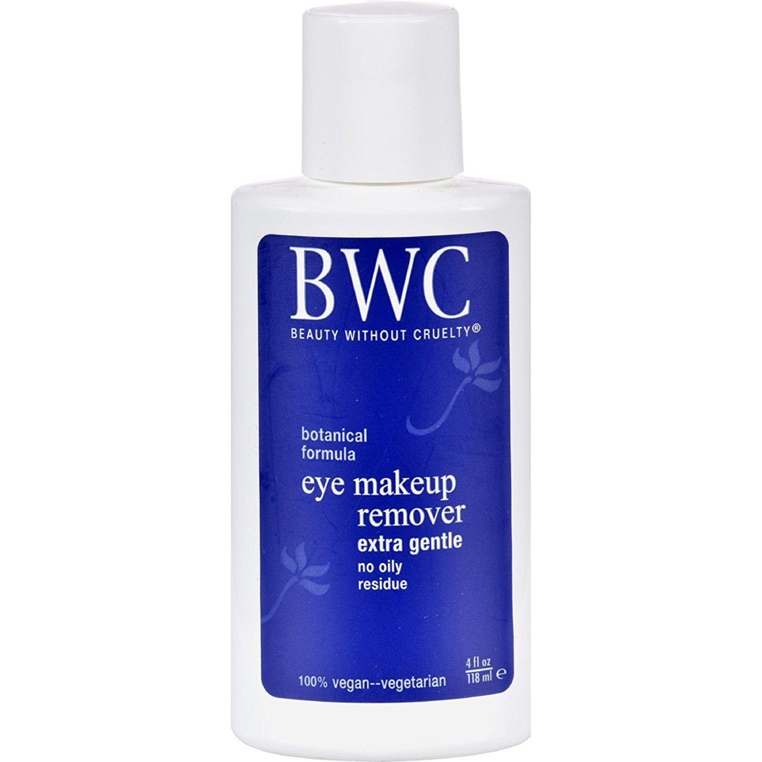 Beauty Without Cruelty Extra Gentle Eye Make Up Remover, 4 Ounce - 6 Pack