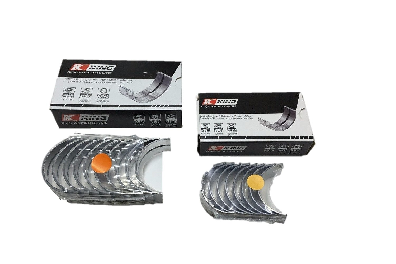 King Engine Rod and Main bearings for Chevrolet Mercruiser GM GMC 4.3L V6 262 (.020' Rod & Mains) King Bearings