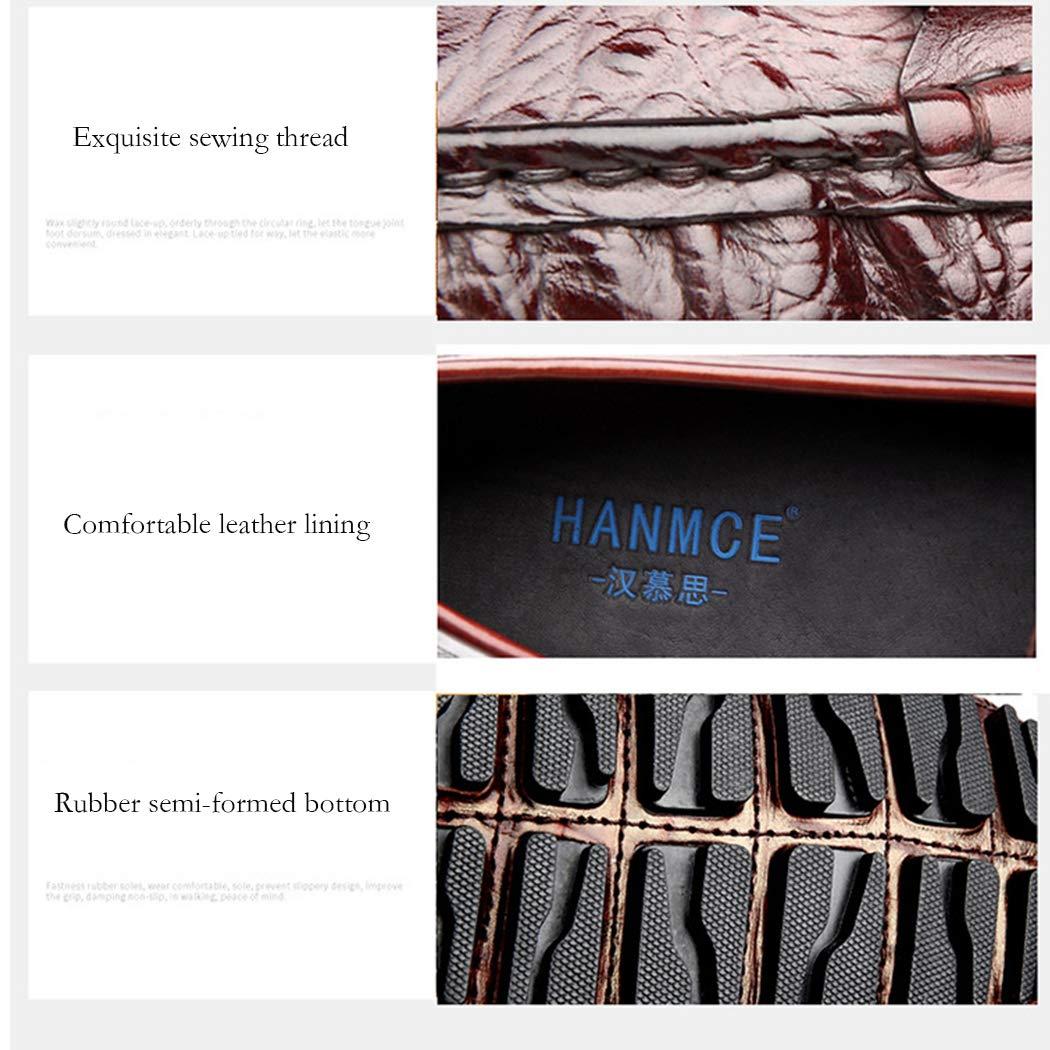 LYMYY Autunno Scarpe Uomo Scarpa Scarpa Scarpa Quadrato Testa Coccodrillo Modello Uomo Scarpe Casual Giovani Scarpe A Fondo Piatto 9016a9