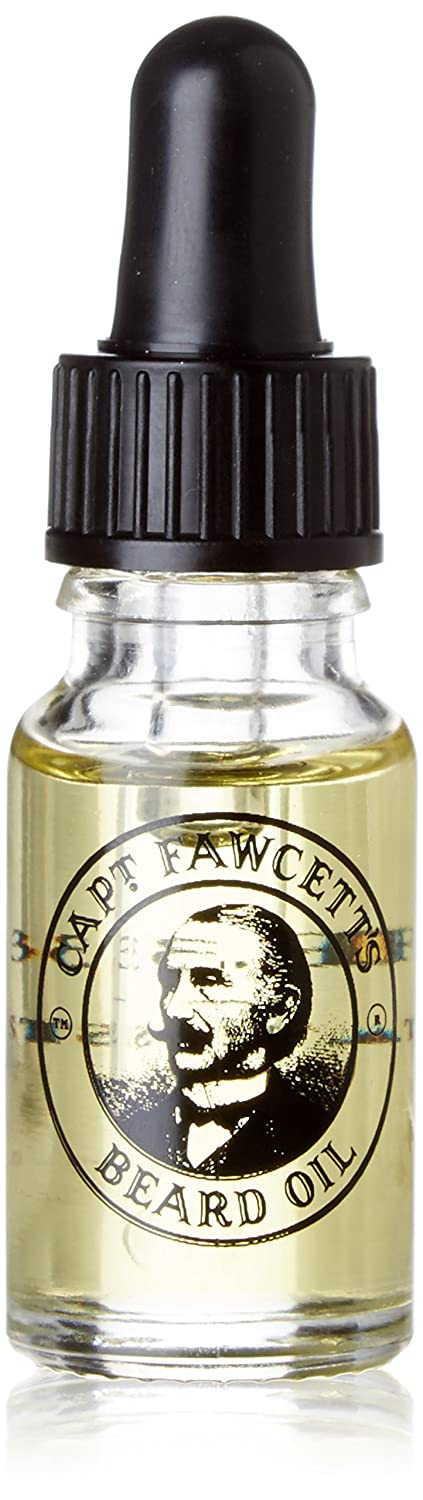 Captain Fawcett Beard Oil 10ml Private Stock (CF.332) - Made in England by Captain Fawcett 5060338440300