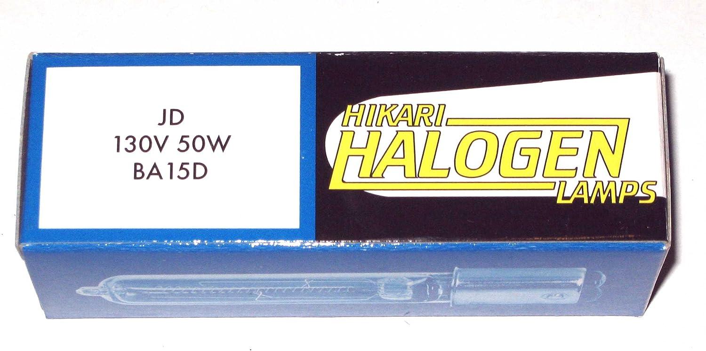 Halco Lighting Technologies Q50CL//DC Prism 107018 130V 50W T4 BA15D