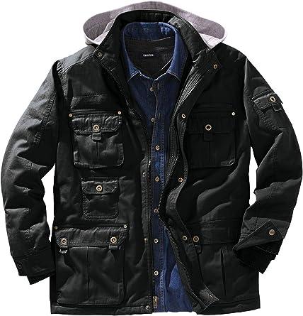 Boulder Creek Mens Big /& Tall Multi-Pocket Vest