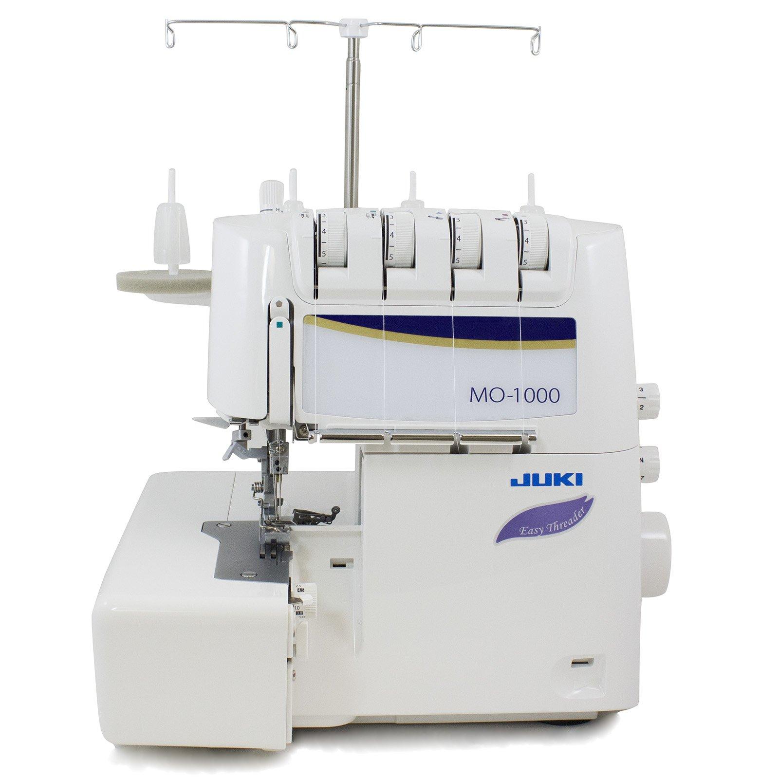 Juki MO-1000 Serger, Push Button Jet Air Looper Threader,purple product image
