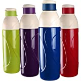 Cello Puro Insulated Water Bottle, 900ml, Set of 4, Assorted