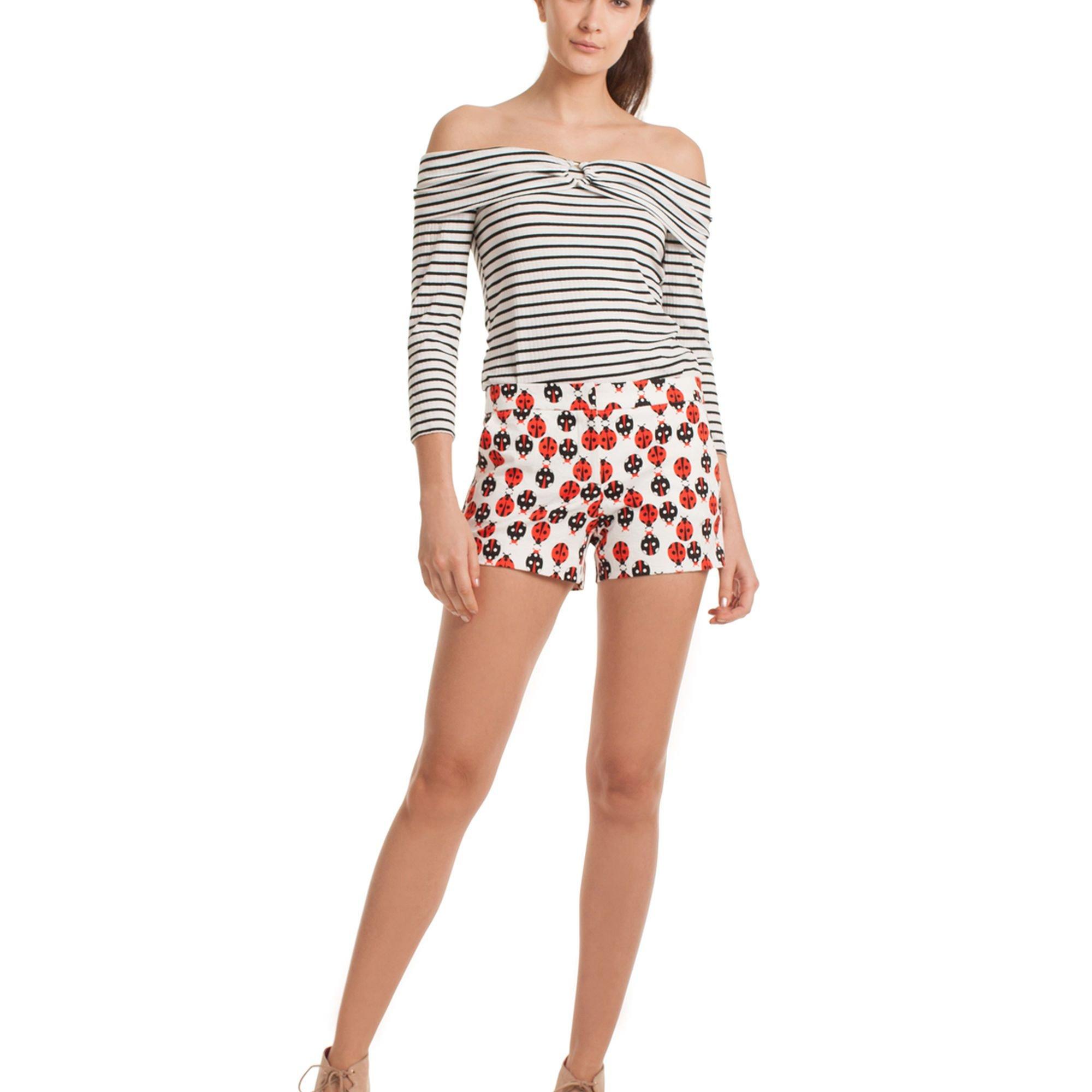 Trina Turk Corbin 2 Ladybug Shorts