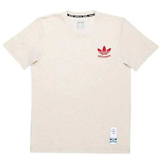 5c6f4ab834cd adidas Alltimers (Off White) T-Shirt at Amazon Men s Clothing store