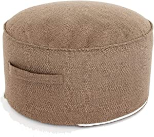 Paddia Fashion Stools & Ottomans Nordic Multicolored Minimalist with Handle Washable Fabric Low Tatami Tatami Mat Pouf Ottoman Dining Stool Footstool for Sofa Living Room Furniture Chair