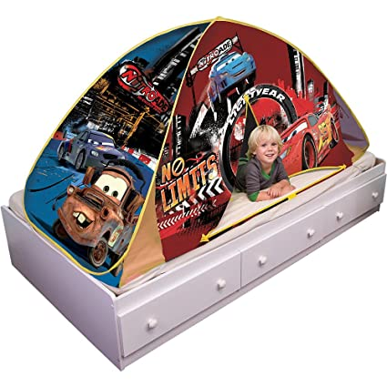 Playhut Disney/Pixar Cars Bed Tent Playhouse  sc 1 st  Amazon.com & Amazon.com: Playhut Disney/Pixar Cars Bed Tent Playhouse: Toys u0026 Games