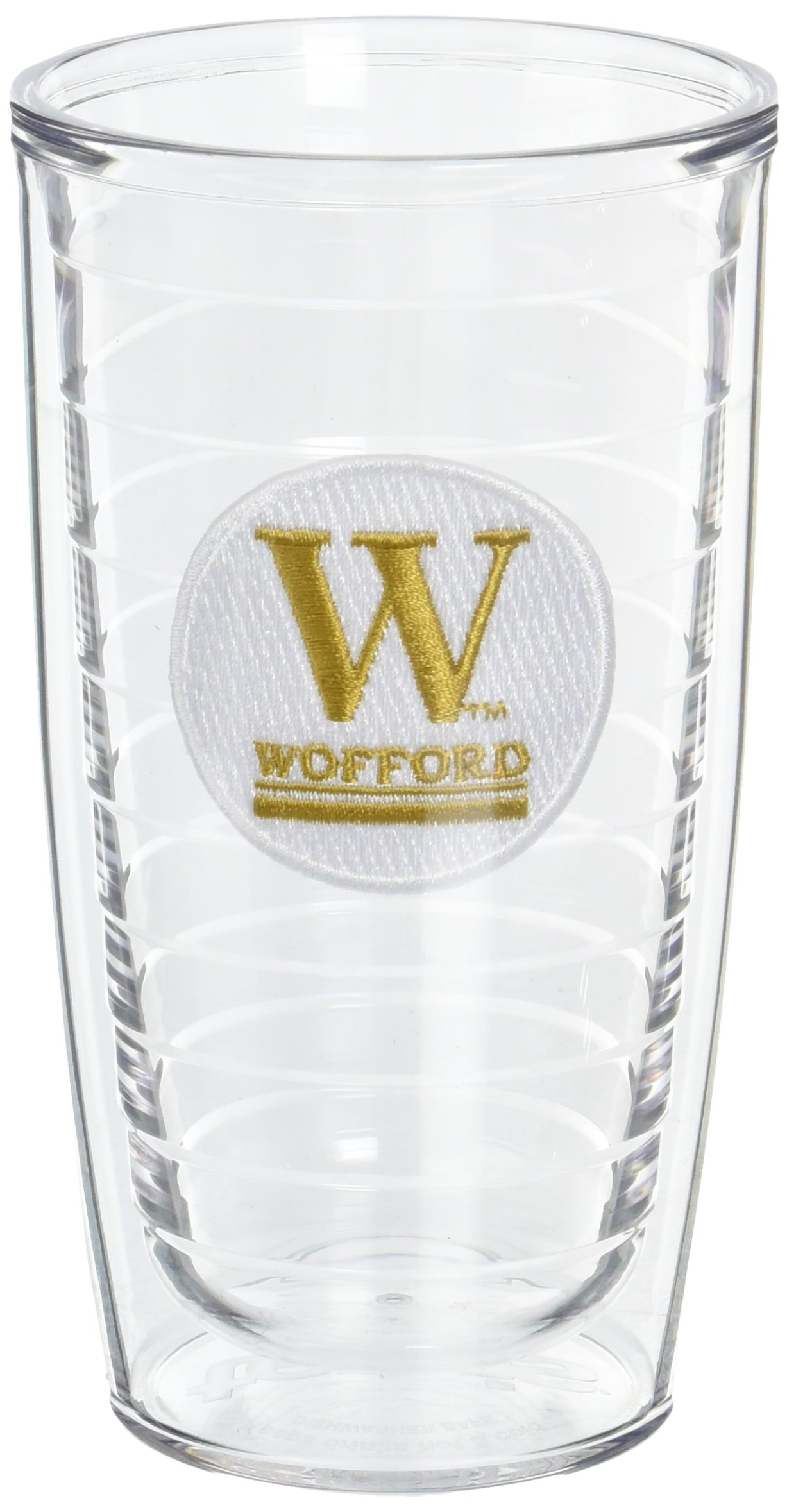 Tervis Wofford College Emblem Tumbler (Set of 2), 16 oz, Clear