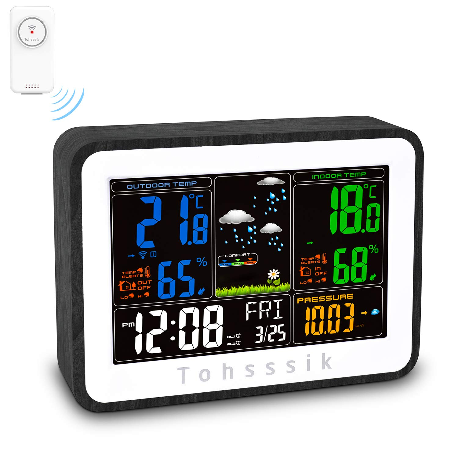 The 10 Best 433Mhz Wireless Weather Station Forecast ...