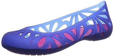 ec80aa47da0 crocs Adrina III Flat W Women Slip on W9  Shoes  14936-4AU-W9 ...