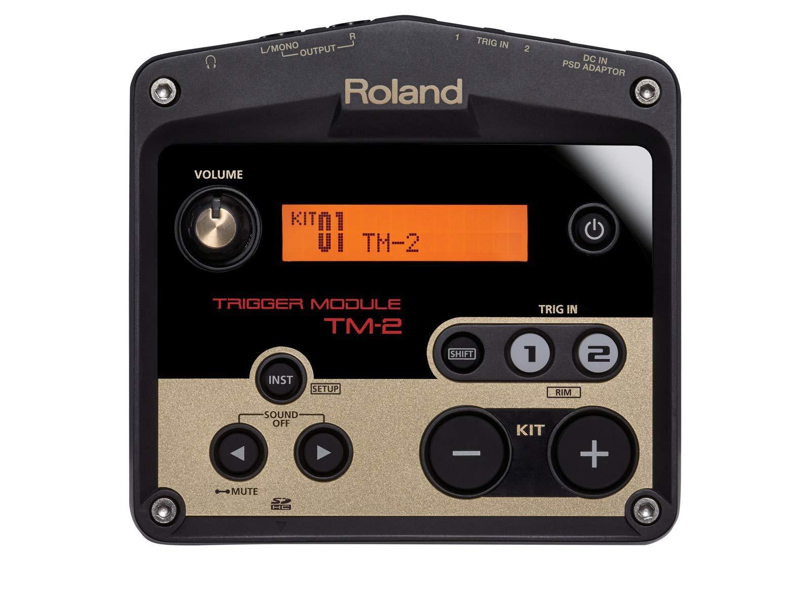 Roland TM-2 Acoustic Drum Trigger Module, 2 inputs