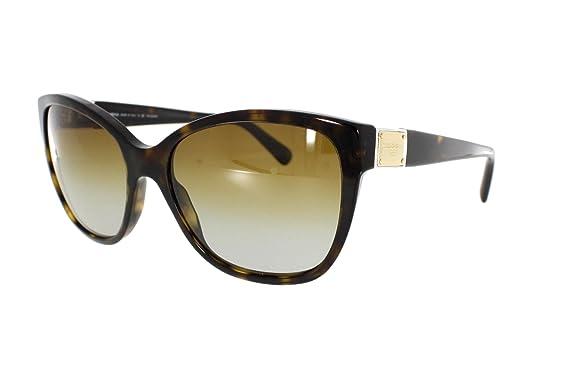 dc6b0fc704ccfa Dolce gabbana   lunettes de soleil dG 4195 502 taille 56 t5 couleur havana