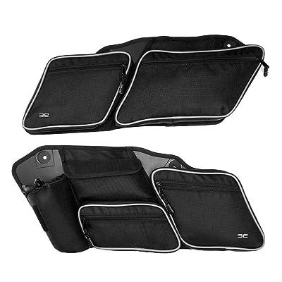 Premium Street Glide Saddlebag Organizers, 2 Pack for 2014-2020 Road King Road Glide Electra Glide Saddle Bag Organizers: Automotive
