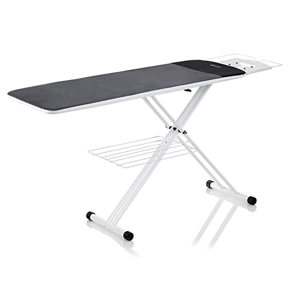 Reliable 300LB Longboard 2-in-1 Home Ironing Table with Extension