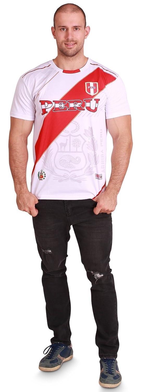 【中古】 World White Cup Jersey SHIRT World メンズ B07DSSRK8Q Men-S/M|Peru SHIRT Men White Peru Men White Men-S/M, 古勝製茶場:68ec4941 --- svecha37.ru