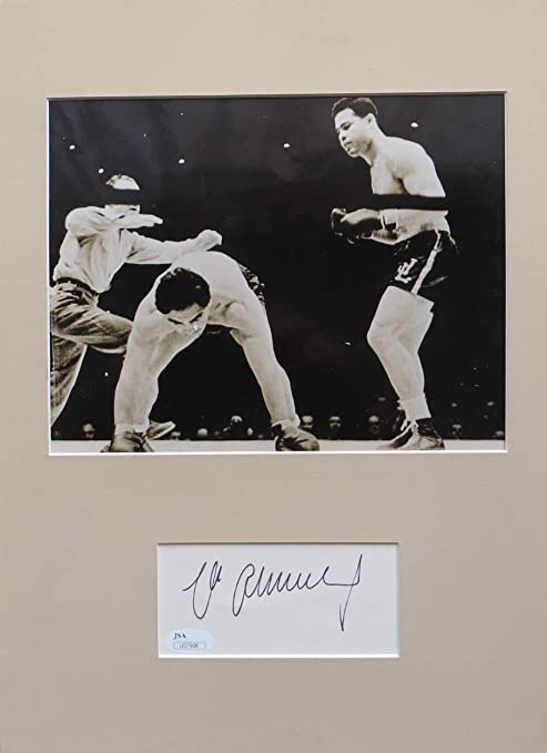 eca54056048 Image Unavailable. Image not available for. Color  Max Schmeling Signed ...