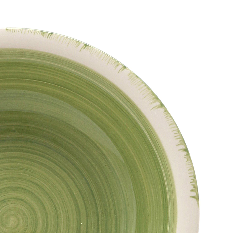 Set piatti fresh di kasanova, 18 pezzi: amazon.it: casa e cucina