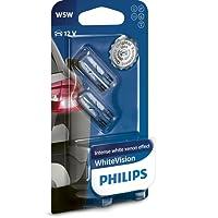 Philips 12961NBVB2 WhiteVision Xenon-Effekt W5W Autolampe, Doppelblister