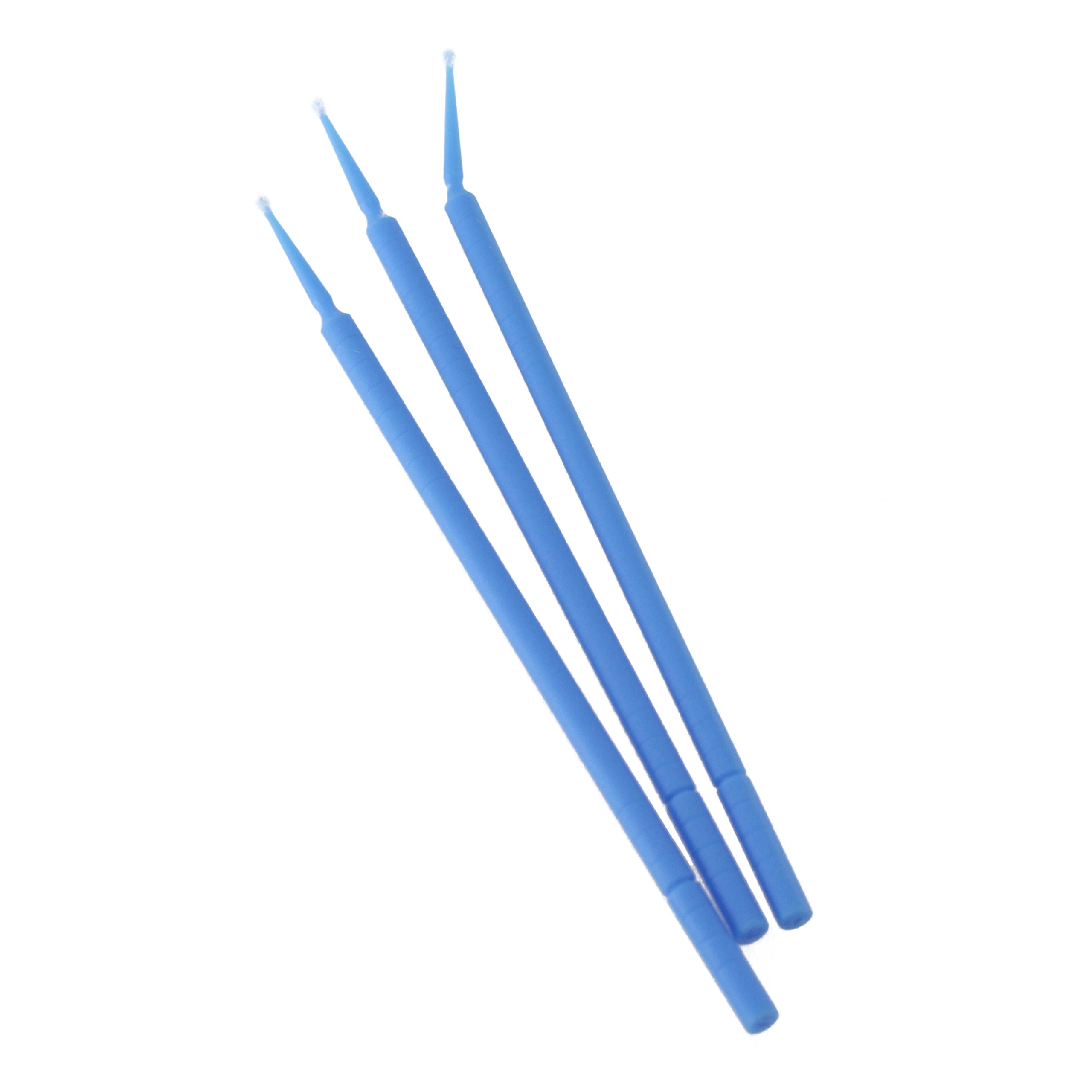 BeeSure BE504T Micro-Applicator Tips, Regular Blue (Pack of 400)
