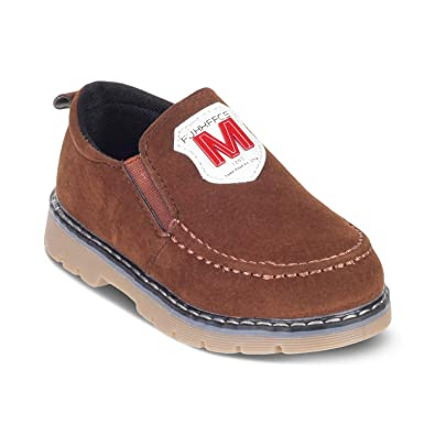 d9180a3f61f KITTENS Brown Boys Casual Shoes  Amazon.in  Shoes   Handbags
