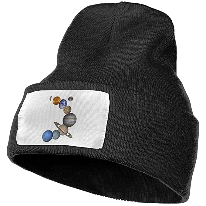 12b5763b44c Taomap solar system planets women and men skull caps winter warm stretchy  knitting beanie hats jpg