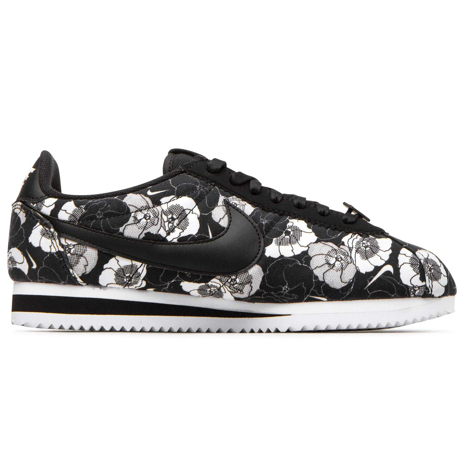 premium selection 24c01 7c3bf Amazon.com | Nike Women's Classic Cortez LX Floral Black ...