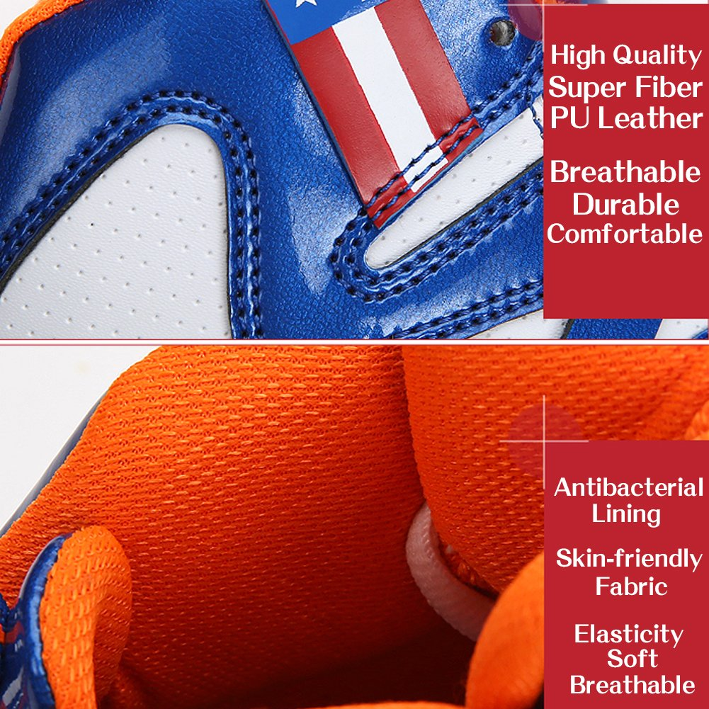 2e8c8c88abd9fd WETIKE Kids Basketball Shoes High-Top Sneakers Outdoor Trainers Durable  Sport Shoes (Little