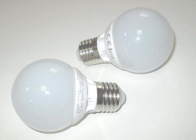 Dimmbares LED Leuchtmittel mit E27 Fassung in Warmweiß Glas farbig 8Watt /& 560Lm