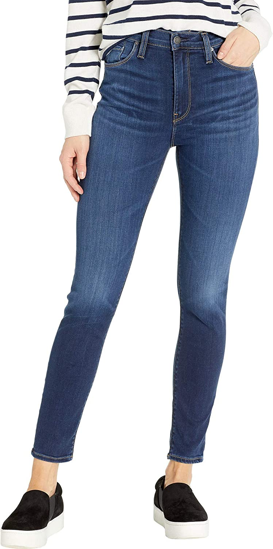 Baltic Hudson Jeans Womens Barbara High Waist Super Skinny Ankle 5 Pocket Jean