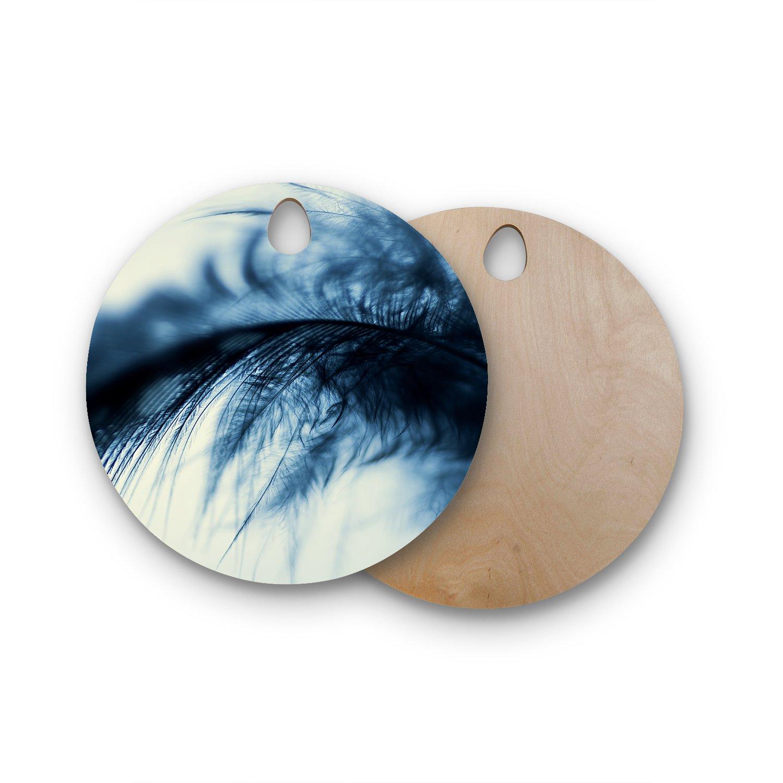 Kess InHouse JB1007AWB02 Wooden Cutting Board Blue