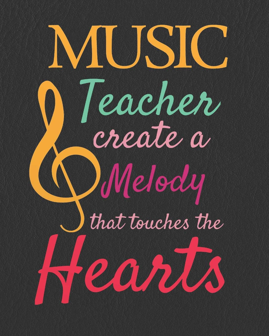 Music teacher create a melody that touches the hearts: Music