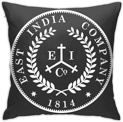 RJ Unique Funda De Cojín,Taboo East India Company Coin Logo ...