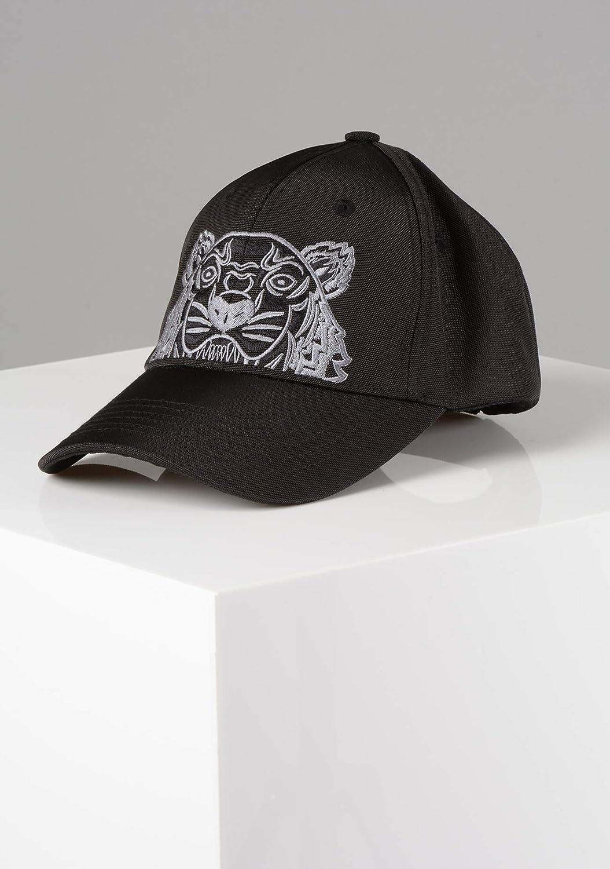 1886958a5985 Kenzo Hommes 5AC301-F20 Tigre Toile Casquette Noir - Noir, One Size   Amazon.fr  Vêtements et accessoires