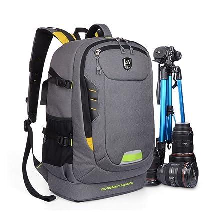 Amazon.com: Abonnyc Dslr SLR Camera Backpack Rucksack Bag Case ...