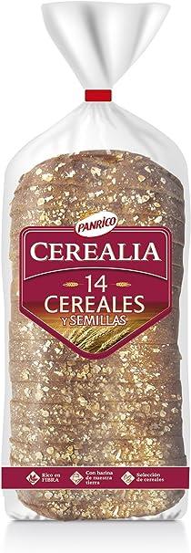 Panrico Cerealia 14 Cereales - Pan de molde con cereales y ...
