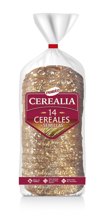 Panrico Cerealia 14 Cereales- Pan de molde con cereales y semillas, 560 g: Amazon.es: Alimentación y bebidas