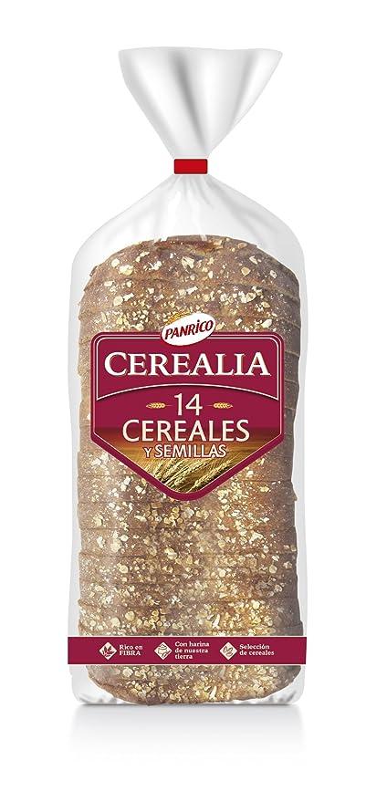 Panrico Cerealia 14 Cereales Pan de Molde con Cereales y Semillas - 560 g
