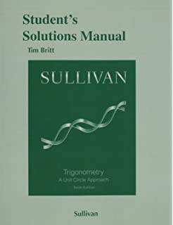 Student solutions manual for gustafsonhughes college algebra students solutions manual for trigonometry a unit circle approach fandeluxe Image collections